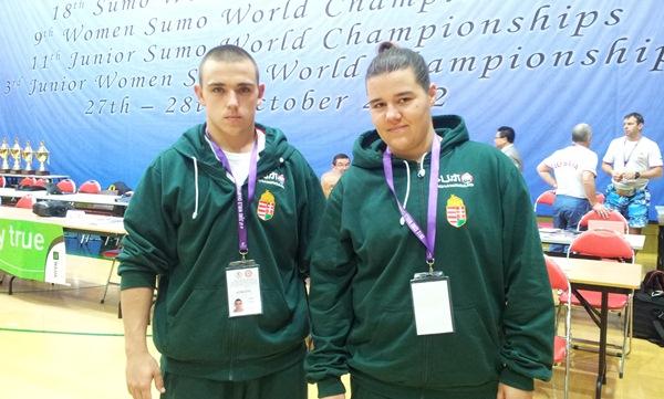 Sárkány Vivien és Prim Martin, Magyar Sumo Szövetség, Hong Kong világbajnokság