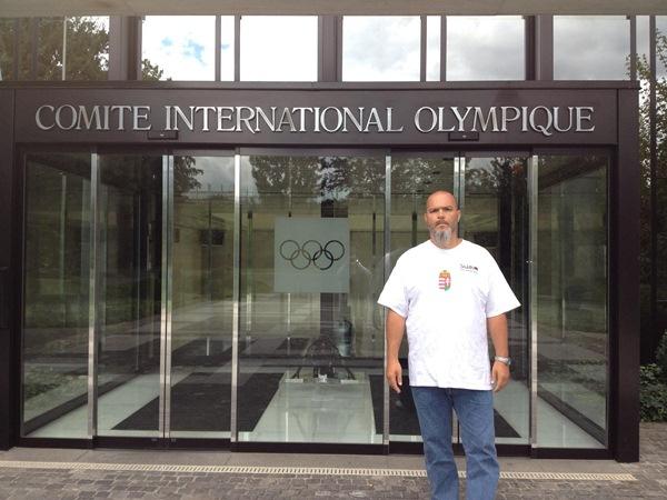 2012. Lacza Ádám - Olimpiai Központ