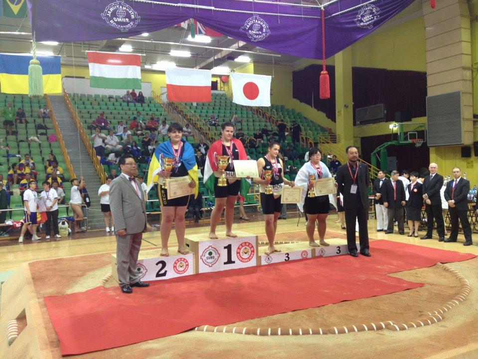 Sárkány Vivien, Magyar Sumo Szövetség, Hong Kong világbajnokság