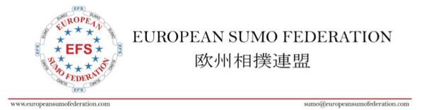 european sumo federation banner